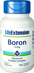 Life Extension Bor 3 mg 100 kaps