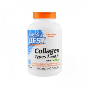 Kolagen Typ 1&3 500mg Doctor's Best 240kaps. Collagen
