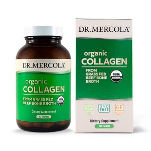 Organic Collagen from Grass Fed Beef Bone Broth 90tabl. Dr Mercola Kolagen