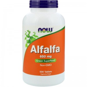 Alfalfa 650mg Now Foods 500tabl.