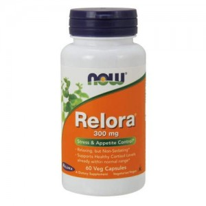 Relora 300mg Now Foods  60kaps.