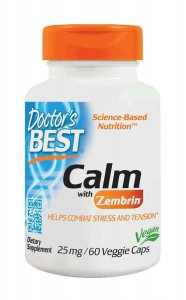 Doctor's Best Calm with Zembrin 25mg 60 kapsułek