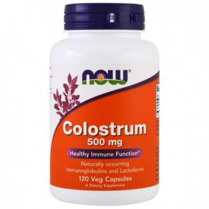 Colostrum 500mg  120 kaps. Now Foods