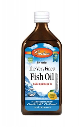 The Very Finest Fish Oil 1600mg 500ml Carlson Laboratories