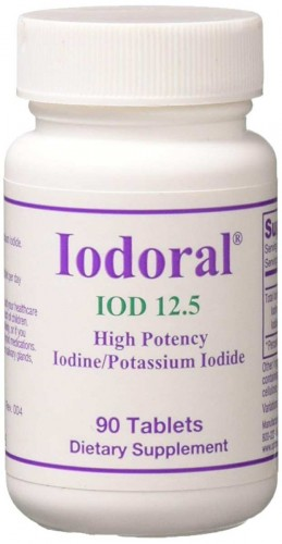 Jodoral Jod 50mg IOD-12,5 90 tabletek Optimox Iodoral